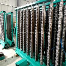 Máquinas de urdido para hilo elástico