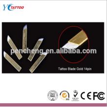 Profesional de alta calidad de alta calidad de longitud esterilizada aguja de tatuaje