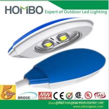 La alta calidad impermeabiliza 5 años de garantía llevó la luz de calle Solor híbrido brillante estupendo llevó la lámpara al aire libre de la carretera del CE Rohs UL LED