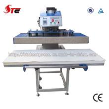 CE a approuvé la machine simple de presse de la chaleur de la station 50X120cm