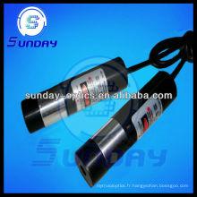 Module laser de ligne rouge de 650nm 5mw (ligne réglable)