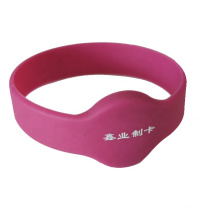 NFC Wristband Silicone Bracelet For Theme Park