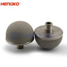 Sintered titanium alloy air stone ozone bubble diffusers aerator submersible aerator for aquaculture/ozone mixing aeration