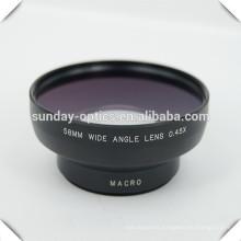 Camera wide angle lens 58mm