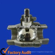 valve de valve de type personnalisé et pièces de valve