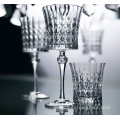 Luxury crystal red wine glass