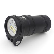 Super helle leistungsstärkste 5000 Lumen LED Taschenlampe UV9 mit Knopf