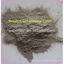 Abrasivos de gran dureza de voladura marrón fundido alúmina precio