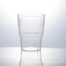 Unique design clear disposable airplane heat resistance plastic drinking cup