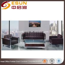 2016 novo sofá de escritório moderno com PU