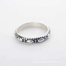 Melhor venda Venda directa da fábrica Simples valor 925 prata esterlina jóias anel