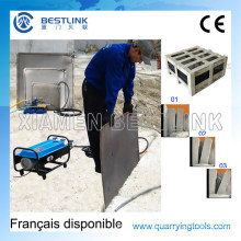 Water Steel Cushion Pushing Hydro Bag for Pushing Donw Marble Block