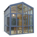 For planter Prefab Container Garden Aluminium Glass House