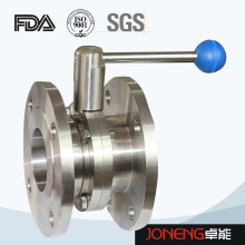 Фланцевый клапан-бабочка из нержавеющей стали (JN-BV1005)