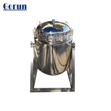 Filtre à manches en acier inoxydable pour le traitement de l'eau
