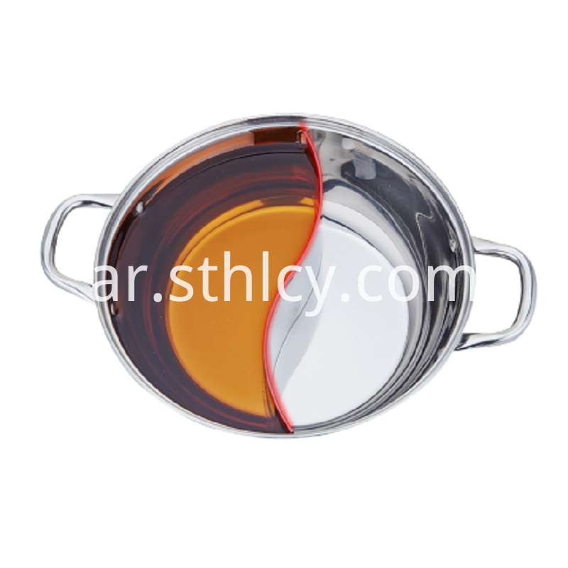Induction Cooker Hot Pot With Glass Cover