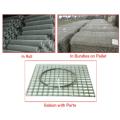 Габионные сетки из сварной сетки из нержавеющей стали