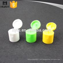 Tapa de botella cosmética superior 24/415 con material pp