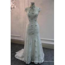Bling Diamond Crystal Mermaid Wedding Dress