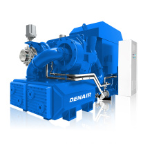 oil free induction type centrifugal compressor