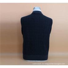 Yak Wolle / Kaschmir Rundhals Pullover Langarm Pullover / Kleidung / Garment / Strickwaren
