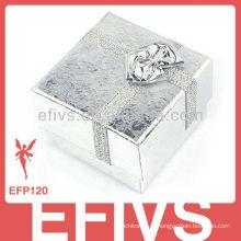 Caixas de jóias de prata banhado fita atacado