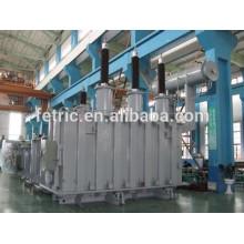 Triphasé huile immergé type cuivre plaie base faible perte 66kV 132kV 25mva transformateur à enroulements
