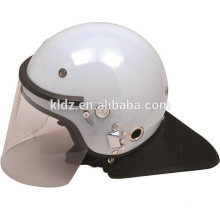 Anti-Roit Helmet PC/ABS Black / White French for Military Equipment