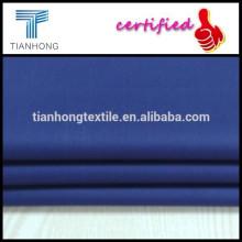 tecido de popeline de algodão cor roxa alta qualidade 80s weave liso para camisa formal de