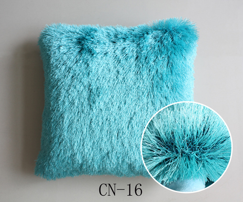 Viscose Shaggy Cushion