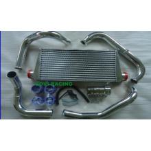 Серебряный воздушный автоматический интеркулер для Nissan Fairlady 300zx Z32