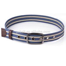 wholesale unisex polyester webbing belt for jeans