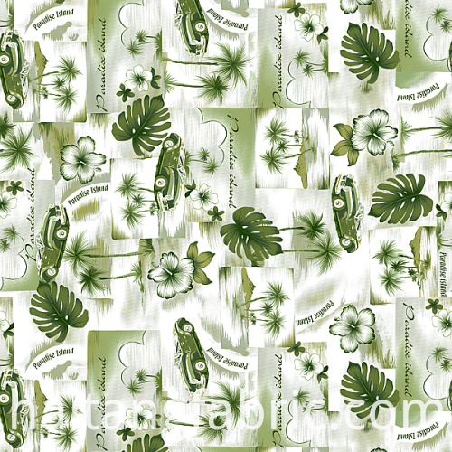 Digital Textile Printing Stock Fabric