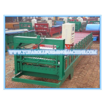 850/900 Double Layer Panel Atap Roll Forming Machine