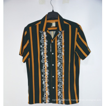 Button Down Summer Casual Men Shirts