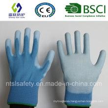 PU Coated Work Safety Glove (SL-PU201B2)