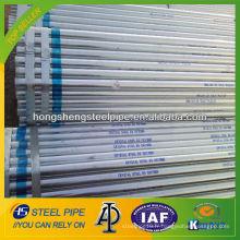 ASTM A53 tuyau en acier au carbone galvanisé