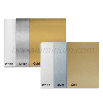 Sandblasted Anodized Aluminum Alloy Panel