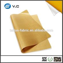 Amostra grátis Tecido de alta temperatura Teflon tecido de fibra de vidro Teflon folha de tecido
