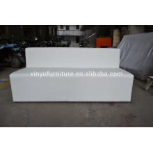 white wedding sofa for rental XYN436