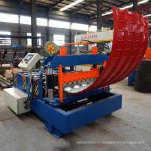 Machine à cintrer de courbure ondulée de trapèze ou de trapèze