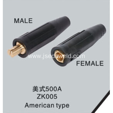 Cable Jointer Plug and Receptacle American Type 500A