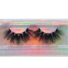 ME43H Hitomi Mink False Eyelash Strip Long Eyelash soft natural mink eyelashes Fluffy 25mm Magnetic Mink Eyelashes