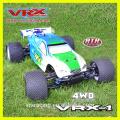 Высокая скорость Электрические RC автомобиль больших масштабах 4 x 4 для продажи