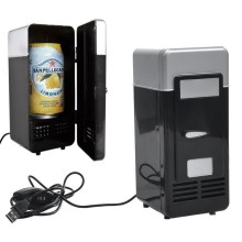 New Mini USB Fridge Cooler Gadget, Portable Refrigerated Coolers