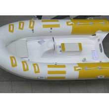 Barco para 6 pessoas, barco com costela de 4 m, barco inflável de fibra de vidro para o litoral com CE China