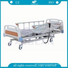 AG-BM104 6-rank al-alloy handrails multifunction electric cheap hospital bed