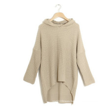 Lady Loose Casual Long Sleeve Irregular Jumper Sweater Plus Size