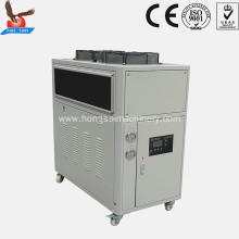 12hp air chiller 33.6kw copper coil heat exchanger