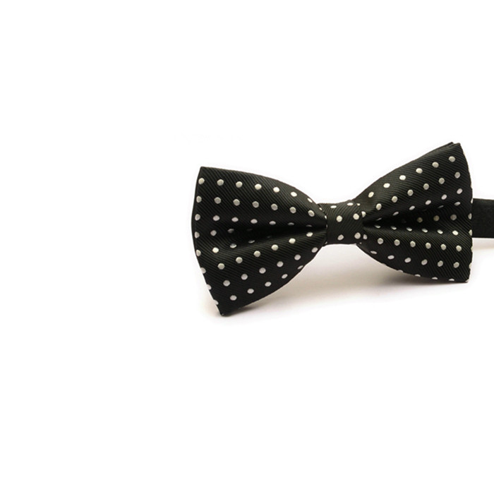 cute black and white bowtie